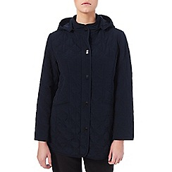 Eastex - Hooded Diamond Leaf Raincoat