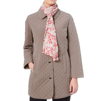 Eastex Longline Quilted Raincoat