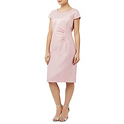 Precis Petite - Pink Embellished Shimmer Dress