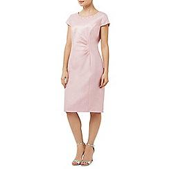 Precis Petite - Pink Embellished Shimmer Dress