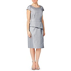 Precis Petite - Grey Shimmer Dress