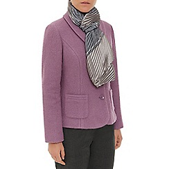 Eastex - Metallic Stripe Plisse Scarf
