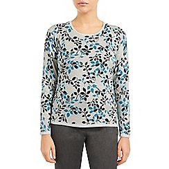 Eastex - Ocean lalique printed sweater