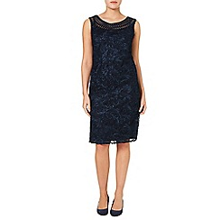 Windsmoor - Navy Cornelli Dress