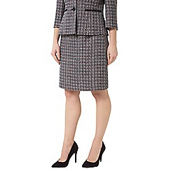 Precis - Jeff Banks Tweed A Line Skirt