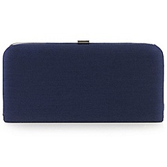 Windsmoor - Navy chain handle clutch bag