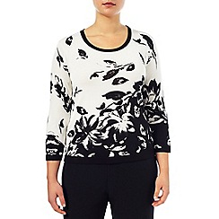 Windsmoor - Monochrome Printed Jumper