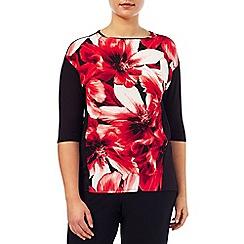 Windsmoor - Floral print jersey top