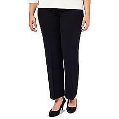 Windsmoor - Black Tailored Texture Trouser
