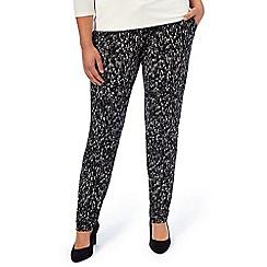 Windsmoor - Bark Print Jersey Trouser