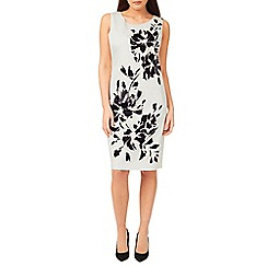 Windsmoor - Mono Floral Placement Dress