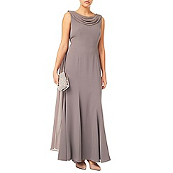 Jacques Vert - Drape Cape Maxi Dress