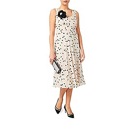 Jacques Vert - Spot Fit And Flare Dress