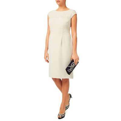 Jacques Vert Cut Out Scallop Dress