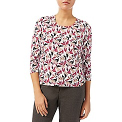 Eastex - Mini falling bud jersey top