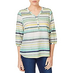 Dash - Multi Stripe Print Blouse