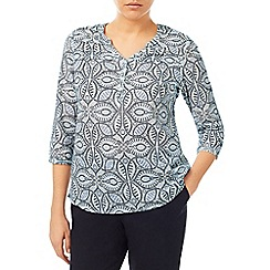 Dash - Mosaic Swril Blouse