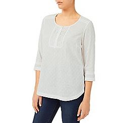 Dash - Broidery White Blouse