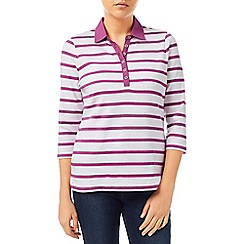 Dash - Pink Stripe Rugby Top