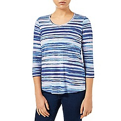 Dash - Painted Stripe Printed  Top