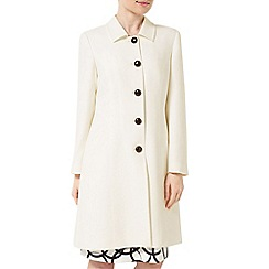 Precis - Jeff Banks Ivory Dress Coat