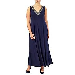 Windsmoor - V neck beaded dress