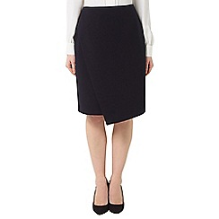 Precis - Jeff Banks Black Wrap Skirt