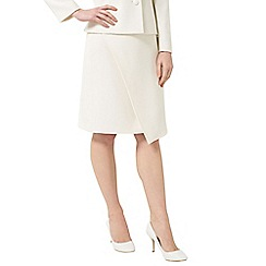Precis - Jeff Banks Ivory Wrap Skirt