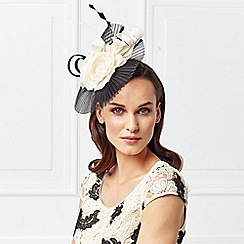 Jacques Vert - Pleated Mesh Flower Fascinator