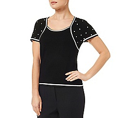 Precis Petite - 2 In 1 Polka Dot Shrug