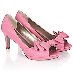 Jacques Vert - Layered Bow Trim Shoe