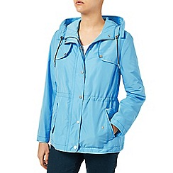 Dash - Sky Blue Rain Jacket With Hood