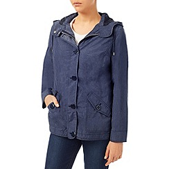 Dash - Chambray Blue Showerproof Coat