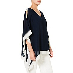 Windsmoor - Navy And Ivory Kaftan