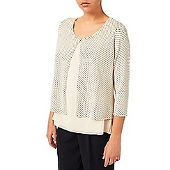 Jacques Vert - Spot Embellished Knit Coverup