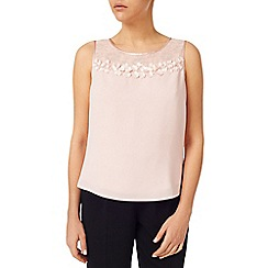 Jacques Vert - Petal And Lace Yoke Blouse