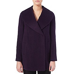 Eastex - Drawn shawl collar coat