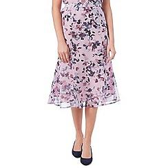 Eastex - Watercolour Floral Skirt