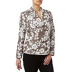 Eastex - Shadow Fleur Shantung Jacket
