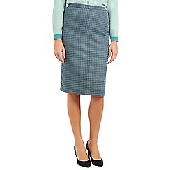 Eastex - Mini check pencil skirt