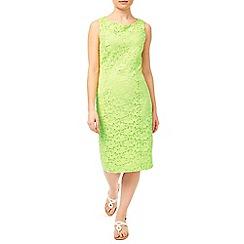 Precis - Green Jasmin Lace Dress