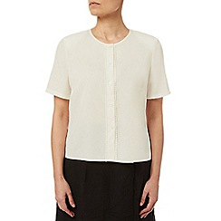 Eastex - Picot Trim Blouse