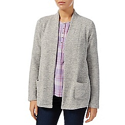 Dash - Grey Textured Jersey Knit