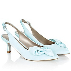 Jacques Vert - Soft Bow Slingback Shoe