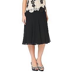 Jacques Vert - Petite 12 Panel Godet Skirt