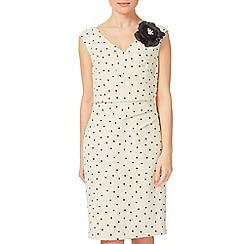 Jacques Vert - Petite Spot Wrap Front Dress