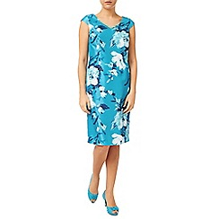Jacques Vert - Large Med Flower Print Dress