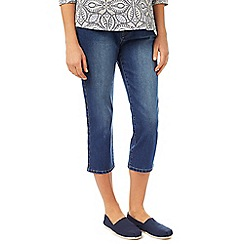 Dash - Denim Mid Wash Crop Jean