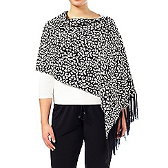 Windsmoor - Animal print Poncho