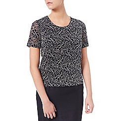 Eastex - Two Tone Lace Top